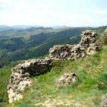 Les hautes Boutières vues du Rocher de Brion