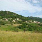 Vue générale de Jaunac village